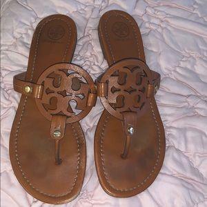 Tory Burch Miller sandals Vintage Vachetta